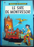 Johan Et Pirlouit N°8 Le Sire De Montrésor édition Dos Rond 1975 Bon Etat - Johan Et Pirlouit