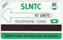 SIERRA LEONE REF MV CARDS SRL-01  10U  MINT