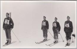 AK MOTIV SKI Militär 1938-02-?? Ungebraucht - Sports D'hiver