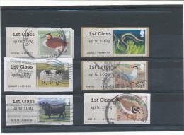 Post And Go Illustrés (Distributeurs Wincor Nixdorf). Bureaux 2832,4007,6007,6009,7912,8113 - Gran Bretagna
