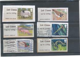 Post And Go Illustrés (Distributeurs Wincor Nixdorf )  Bureaux  6007,7912,,12137,12311,15010,19136 - Gran Bretagna