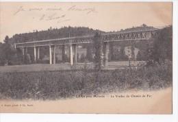 Carte 1902 LAAS Près De Mirande / LE VIADUC DU CHEMIN DE FER ( Voie De Train) - Autres Communes