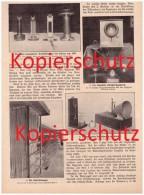 Original Zeitungsbericht - 1911 - 50 Jahre Telephon , Philipp Reis , Telephonamt Berlin , München , Telefon !!! - Telefontechnik