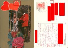 Yugoslavia, Macedonia, Love Postcard, Couple, 1974  01153 - Couples