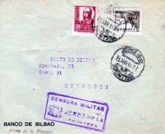 2513   Frontal  Jerez De La Frontera Cadiz, Censura Militar,1938 , El Cid, Y Isabel La Catolica - 1931-Aujourd'hui: II. République - ....Juan Carlos I