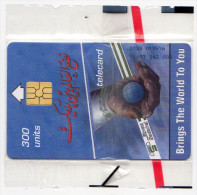 SOUDAN REF MV CARDS SDN-01  300 U  MINT  11/97 - Soudan