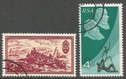 South Africa. 1971 10th Anniv Of Republic Of South Africa. Used Complete Set. SG 305-306 - South Africa (1961-...)