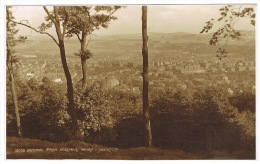 RB 1014 - Early Judges Real Photo Postcard - Buxton From Solomons Woods - Derbyshire Peak District - Derbyshire