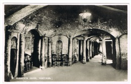 RB 1014 - Real Photo Postcard - St Clements Caves - Hastings Sussex - Hastings