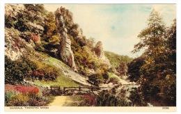 RB 1014 - Postcard -  Dovedale - Tissington Spires - Derbyshire Peak District - Derbyshire