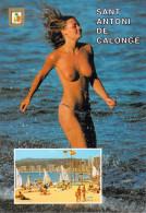 Costa Brava SANT ANTONI DE CALONGE  Playa Plage (2)  (nu Nue Seins Nus Nude) Comercial Escudo De Oro N°9574)*PRIX FIXE - Gerona