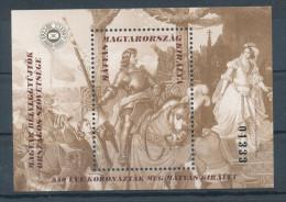 1998. King Matthias - Commemorative Sheet :) - Commemorative Sheets