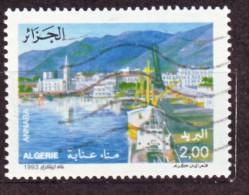 Algérie - Port De Annaba (ex Bône)Timbre Oblitéré N° YT 1054 - Algerien (1962-...)