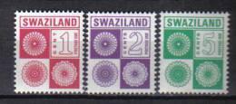 SS2959 - SWAZILAND , Segnatasse Serie N. 14/16  *** - Swaziland (1968-...)