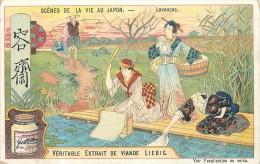 CHROMO LIEBIG - Scènes De La Vie Au Japon - Laveuses - Série Belge 780 - Année 1904 - Liebig