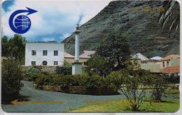 ST.HELENA ISL.(GPT) FIRST ISSUE PUBLIC GARDENS CV:1CSHB-2000pcs--1/90-USED-RARE - St. Helena Island