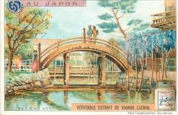 CHROMO LIEBIG - Au Japon - Vue D'un Pont - Série Belge 817 - Année 1905 - Liebig