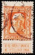 1905. Leopold. 1 Fr.  (Michel: 76) - JF105571 - 1905 Breiter Bart