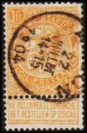 1900. Leopold. 1 Fr.  (Michel: 69) - JF105567 - 1893-1900 Schmaler Bart