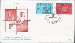 1963. EUROPA FDC 14.9.63.  (Michel: 1320-1321) - JF125133 - FDC