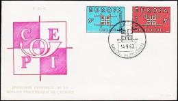 1963. EUROPA FDC 14.9.63.  (Michel: 1320-1321) - JF125132 - FDC