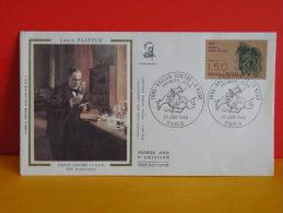 FDC - Louis Pasteur 1885 Vaccin Contre La Rage - Paris - 1.6.1985 - 1er Jour, Coté 2 € - FDC