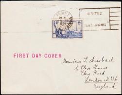 1939. EXPOSITION INTERNATIONALE NEW YORK 2 F 25 C. FDC PARIS 1 18. IV. 1938.  (Michel: 444) - JF124049 - Frankreich