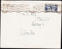 1937. SKI CHAMONIX 1 F 50 PARIS RUE D´ CONSERVAITORE 16 FEVR 1937.  (Michel: 349) - JF124047 - Frankreich