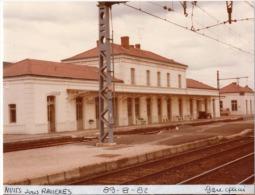 1 Photo - Gare DE NUITS SOUS RAVIERES Quais - Treinen