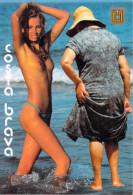 COSTA BRAVA  (Gerona)    (nu Nue Seins Nus Nude) Comercial Escudo De Oro 50*PRIX FIXE - Gerona