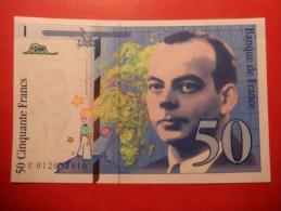 FRANCIA - 50 FRANCHI - 1992-2000 Dernière Gamme
