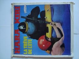 HARA KIRI  La Trève De L´Eté  N° 226 De Juillet 1980 (Dessins Wolinski, Reiser, Hugot)