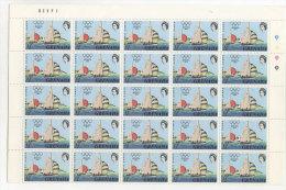 Grenada Michel No. 471 ** postfrisch im Bogen / gefaltet