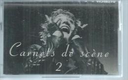 """K7 Audio - PATRICIA KAAS """" CARNETS DE SCENE 2 """"  10  TITRES - Cassettes Audio"""