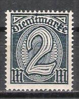 Reich Service N° 27 Neuf * - Service