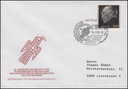 Konrad Adenauer, EF Bf SSt Bonn Internationaler Währungsfonds & Weltbank 14.8.92 - Lettere