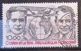 280G - Timbre Oblitéré Poste Aérienne De France N° PA55   Année 1981    Chez Y&T   2011 - 1960-.... Used