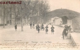 MANOSQUE LA PLAINE ANIMEE EN 1900 - Manosque