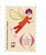Autocollant , LE SOUFFLE C´EST LA VIE , 10 F , 1981 - Stickers