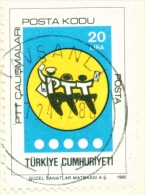 TURKEY  -  1985  Post Codes  20l  Used As Scan - 1921-... Republic