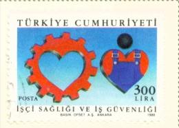 TURKEY  -  1988  Health  300l  Used As Scan - 1921-... Republic