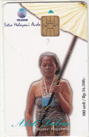 INDONESIA(chip) - High Ranking Court Servant, Abdi Dalem, Telkom Telecard 100 Units, Tirage 15000, 05/98, Mint - Indonesien