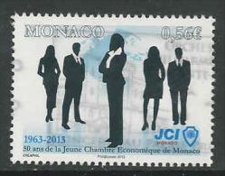Monaco, Yv 2873 Jaar 2013,   Gestempeld, Zie Scan - Monaco