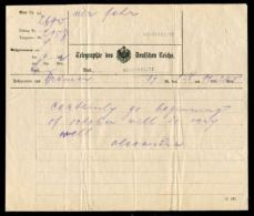 UNUSUAL TELEGRAM FROM QUEEN ALEXANDRA WIFE OF KING EDWARD VII NEUSTRELITZ - Other Collections