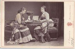 RUSSIAN IMPERIAL CABINET PHOTO COUNTESS KLEINMICHEL & VON GORTSCHASOFF, TOURTIN - Unclassified