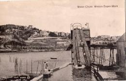 WATER CHUTE WESTON-SUPER-MARE CARTE GLACEE - Weston-Super-Mare