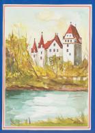 Deutschland; Ingolstadt An Der Donau; Neue Schloss; Künstlerkarte - Ingolstadt