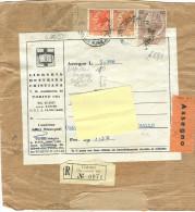 PIEGO LIBRI, £. 190, IN TARIFFA RIDOTTA EDITORIALE RACCOMANDATA , ASSEGNO RIDOTTO EDITORIALE, 1958, 3 TARIFFE RIDOTTE - 6. 1946-.. Repubblica