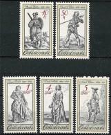 CZECHOSLOVAKIA 1983 COSTUMES & MILITARY UNIFORMS In ART MNH WEAPONS A14 - Czechoslovakia