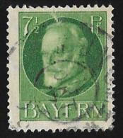 BADEN - Scott #97 King Ludwig III (*) / Used Stamp - Bavière